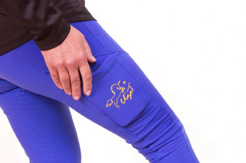 SS19 Eliza T Brilliant Blue Riding Jeggings with Full Seat **REDUCED FROM £49.99